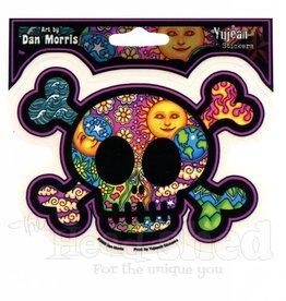 Skull & Crossbones Sky Sticker