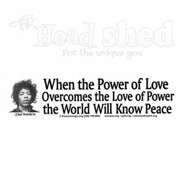 The Power Of Love Sticker