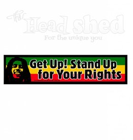Get Up! Stand Up! Sticker