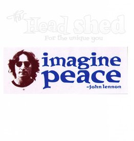 Imagine Peace Sticker