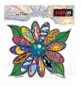 Earth Blossom Sticker