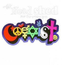 Coexist Graffiti Sticker