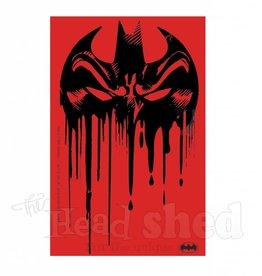 Red Batman Sticker