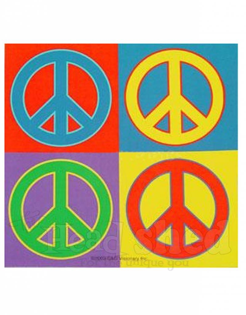 Peace Pop Art Sticker