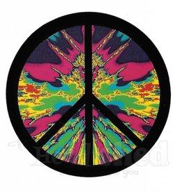 Tie Dye Peace Sticker