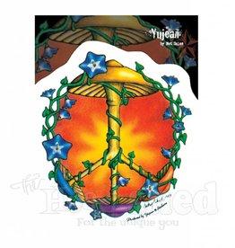 Peace Mushroom Sticker