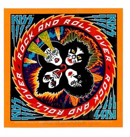 Kiss Rock n' Roll Over Sticker