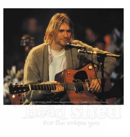 Kurt Cobian Guitar Sticker