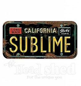 Sublime License Plate Sticker