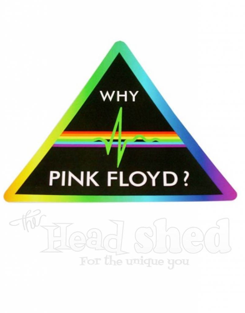 Why Pink Floyd? Sticker