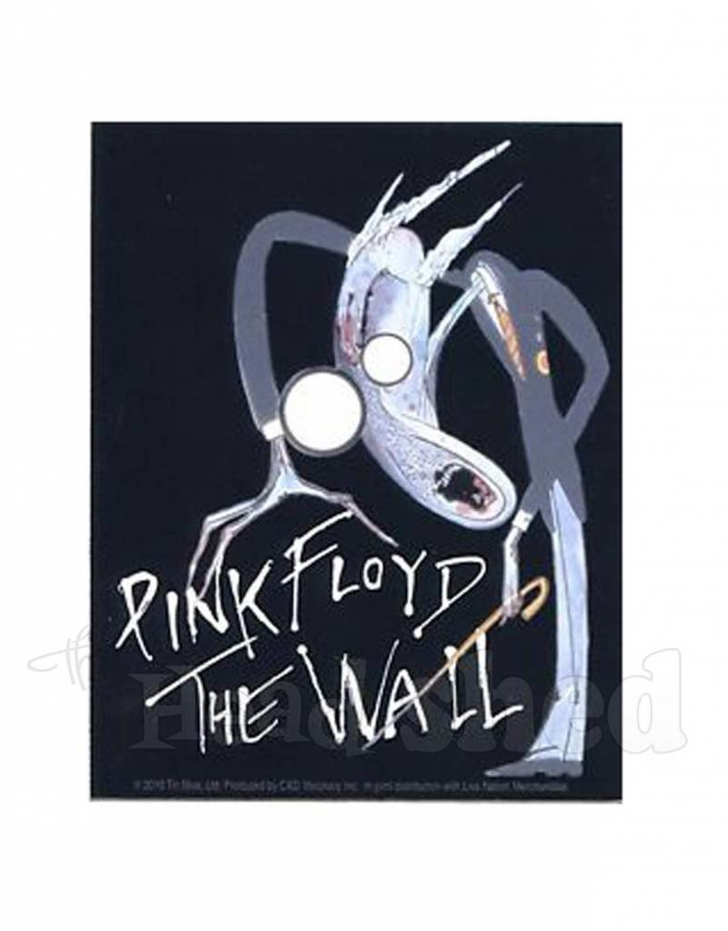 Pink Floyd The Wall Cartoon Sticker