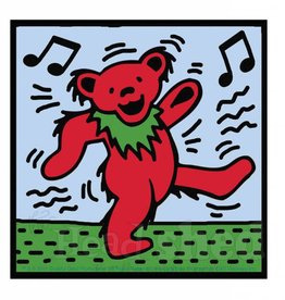 Dead Bear Music Sticker