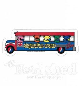 Grateful Dead Bear Bus Sticker