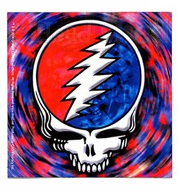 Steal Your Face Tie Dye Square Sticker
