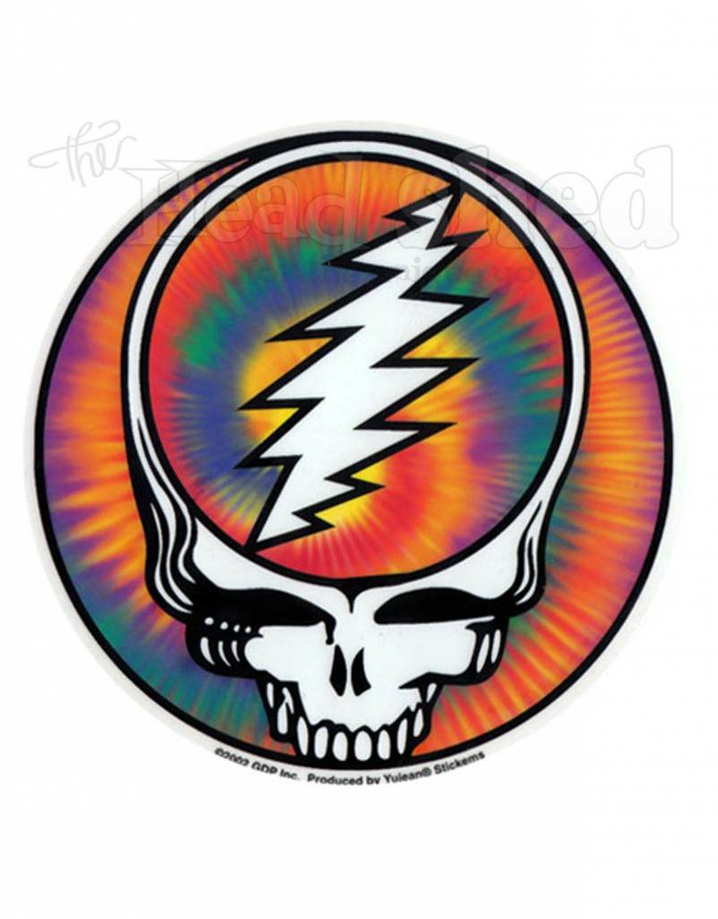 Tie Dye Steal Your Face Sticker