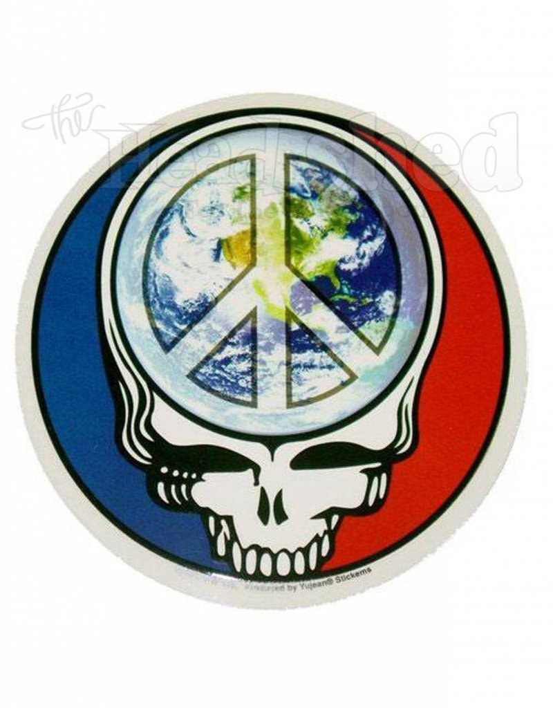 Steal Your Face Peace Earth Sticker