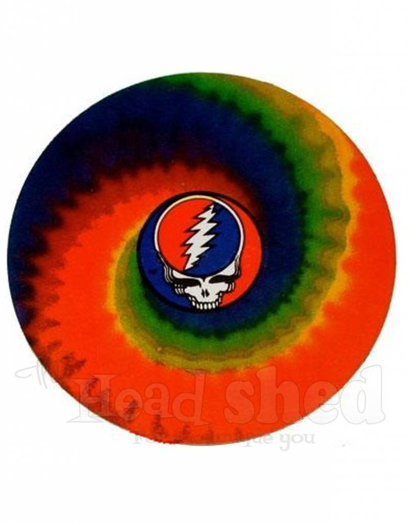 Tie Dye Spiral Steal Your Face Sticker
