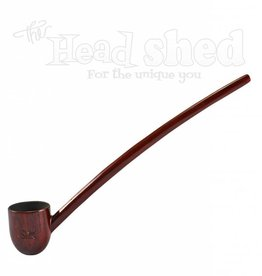 "Shire Pipes Shire Pipe 9"" Deep Bowl Churchwarden Rosewood"