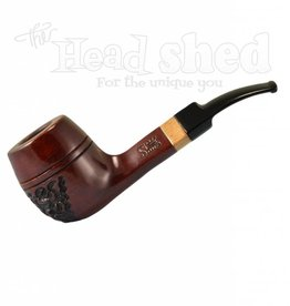 "Shire Pipes Shire Pipe 5.5"" Bulldog Rosewood"