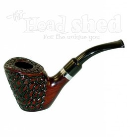 "Shire Pipes Shire Pipe 5.5"" Full Bent Engraved w/ Filter"