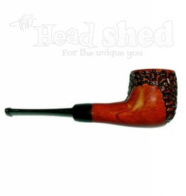 "Shire Pipes Shire Pipe 5.5"" Engraved Billiard Rosewood"