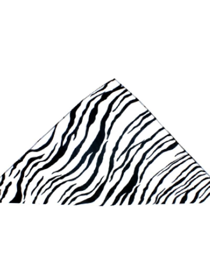 Bandana White Zebra