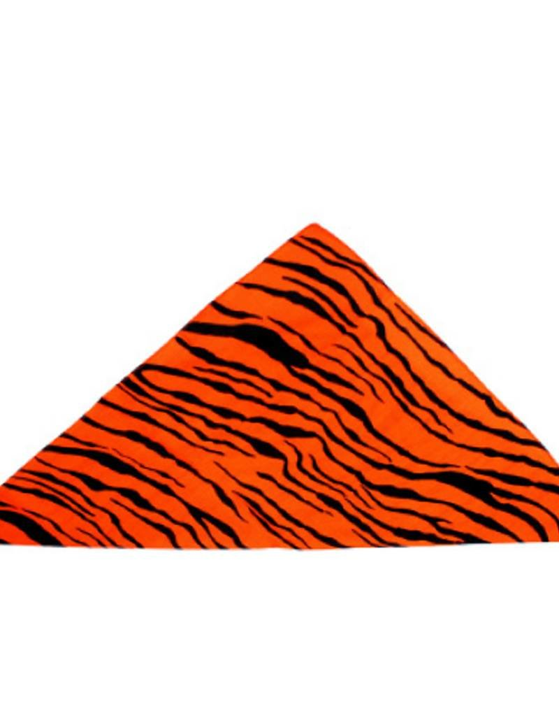 Bandana Orange Zebra