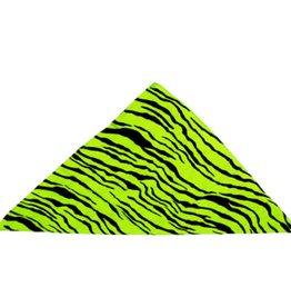 Bandana Green Zebra