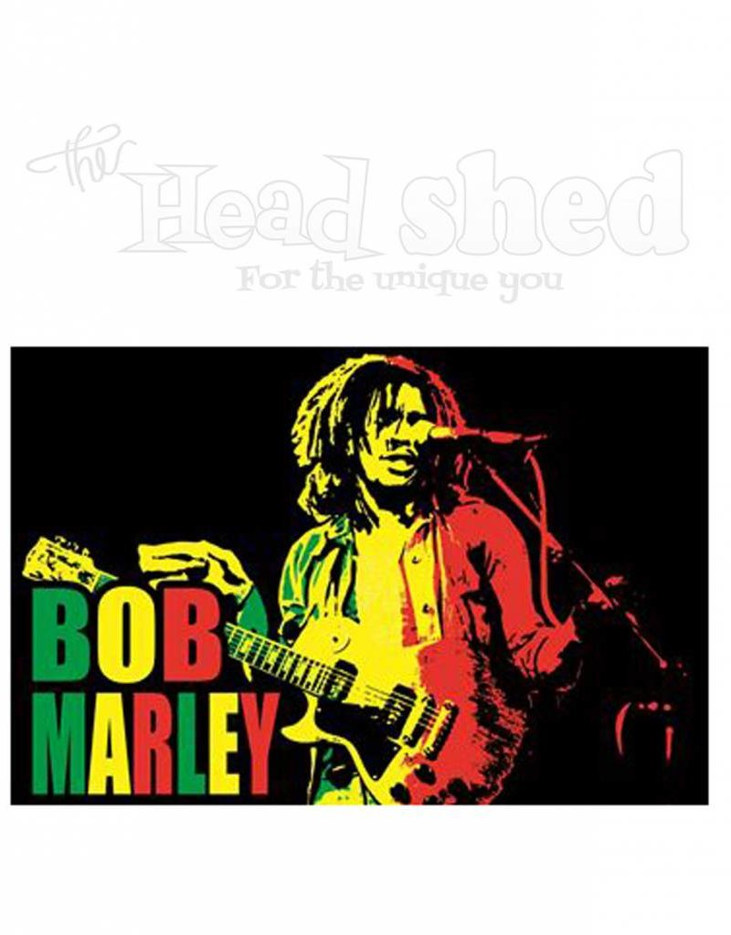 Black Light Poster - Bob Marley Live