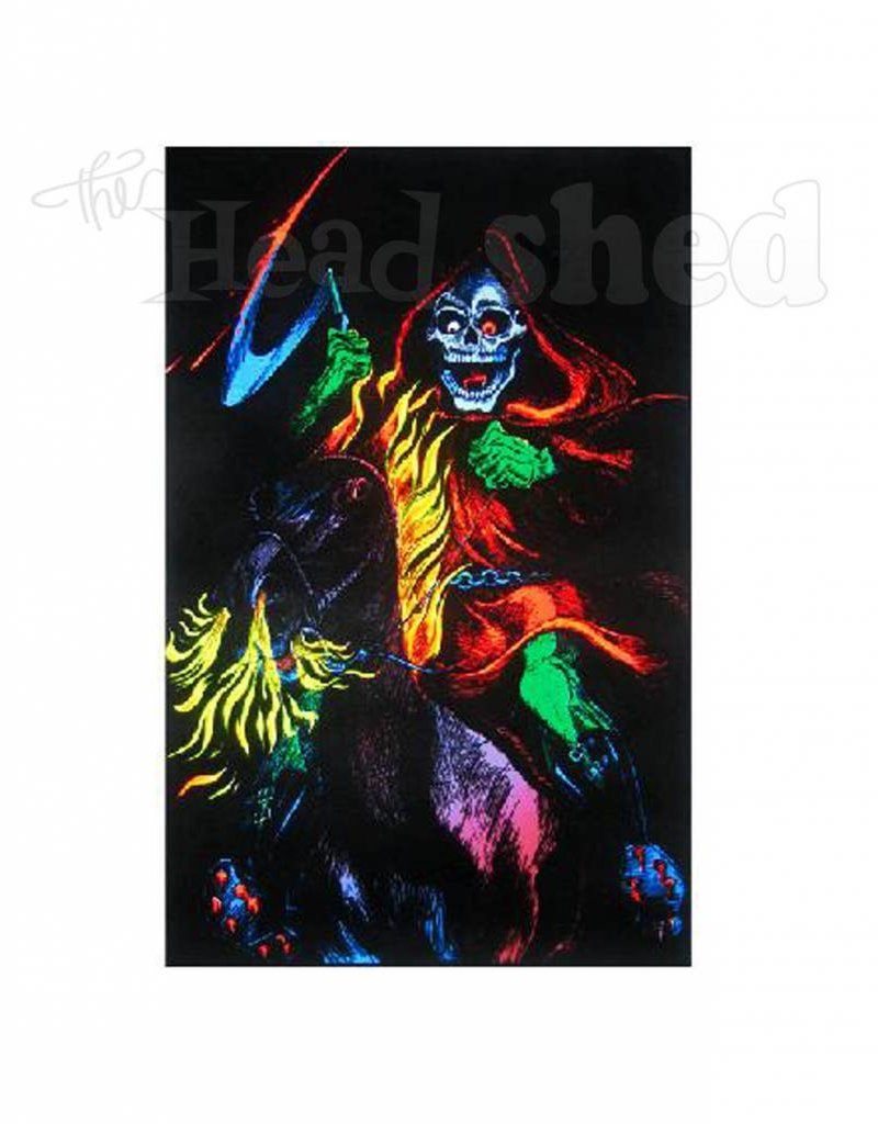 Black Light Poster - Death Rider