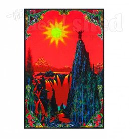 Black Light Poster - Garden of Eden