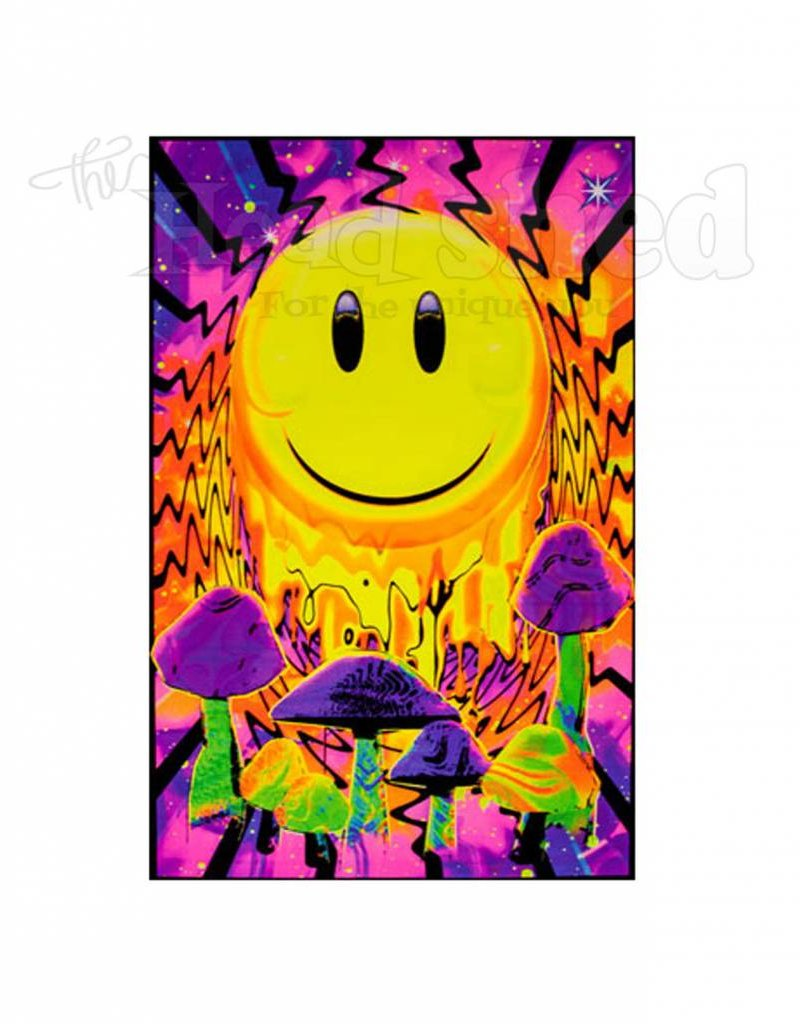 Black Light Poster - Have A Nice Trip