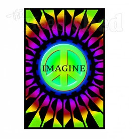Black Light Poster - Imagine