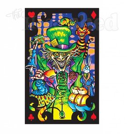 Black Light Poster - Mad Hatter