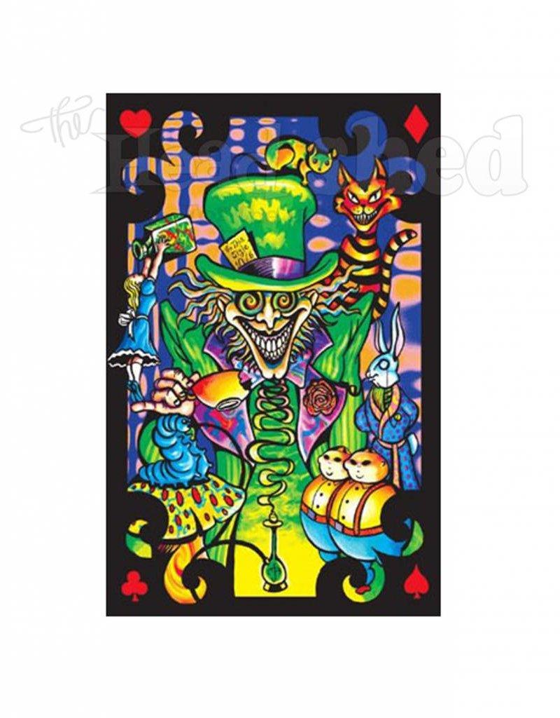 Black Light Poster - Mad Hatter