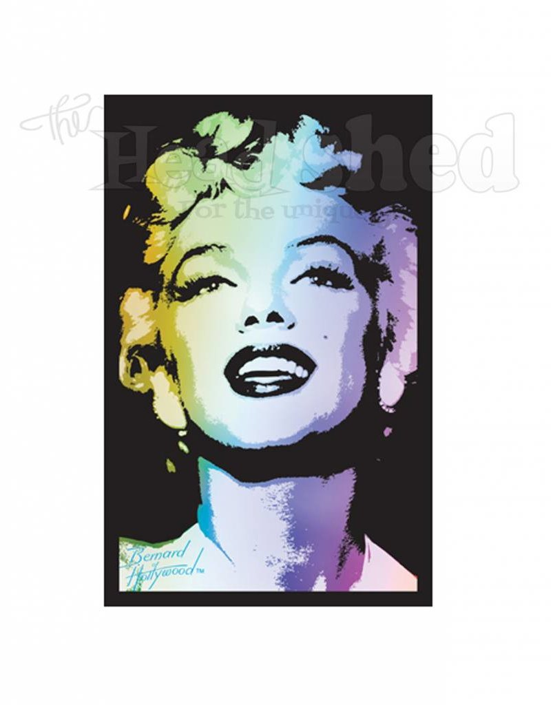 Black Light Poster - Marilyn Monroe