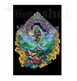 Black Light Poster - Musical Frog