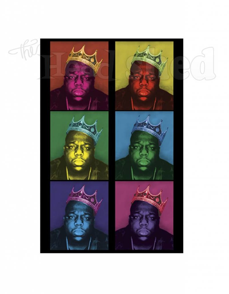Black Light Poster - Notorious BIG
