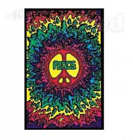Black Light Poster - Peace