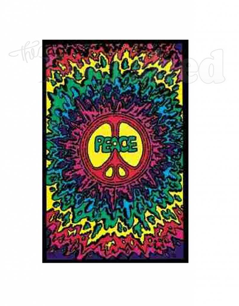 Black Light Poster - Peace