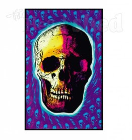 Black Light Poster - Skull Trip
