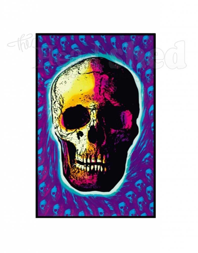 Black Light Poster - Skull Trip