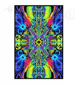 Black Light Poster - Wormhole