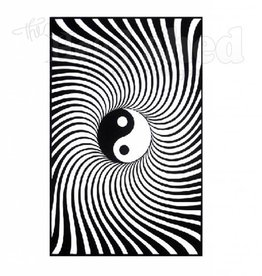 Black Light Poster - Yin Yang