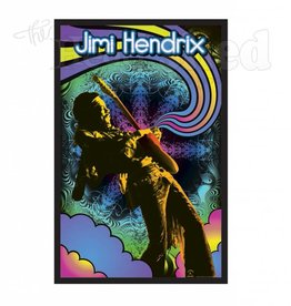Black Light Poster - Jimi Hendrix