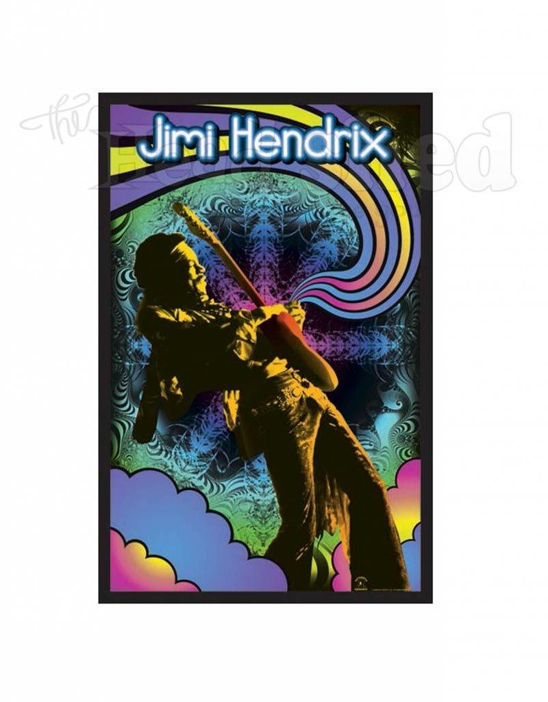 Black Light Poster - Jimi Hendrix