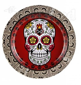 Tin Ashtray - Sugar Skull