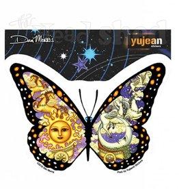 Yujean - Chariot Butterfly Sticker