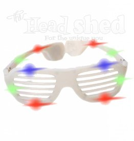 Hip Hop Fashing Light Up Sunglasses