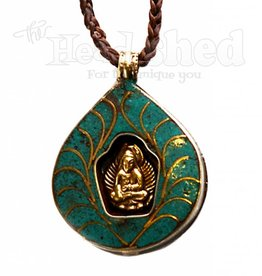 Alter Of The Heart Meditating Buddah Pendant Necklace